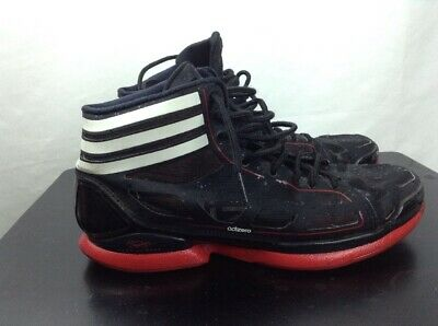 quality design d5d92 ffb46 Adidas AdiZero Crazy Light Derrick Rose size 11 PE Black Red Sprint Frame  9oz