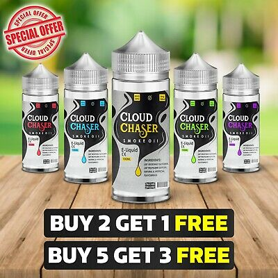 E Liquid 100ml 80/20 Vape Juice eliquid Cloud Chaser 0mg 3mg 6mg Cheap E-Liquid
