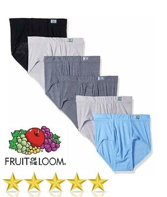 f32e7401 Fruit of the Loom Men's Beyond Soft Fashion Briefs (6, 12 & 18 Value
