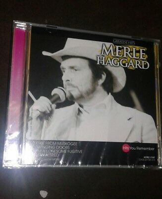 MERLE HAGGARD - Merle Haggard - Greatest Hits [madacy] - CD - **SEALED/ NEW**