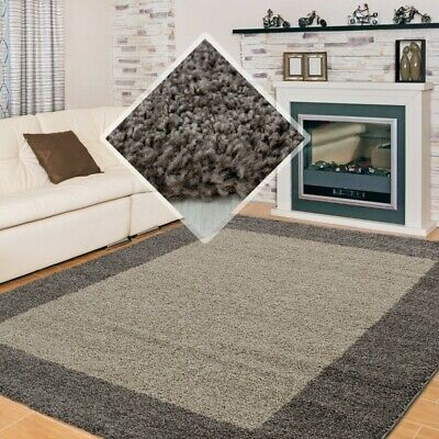 SMALL X EXTRA LARGE THICK 30mm HIGH PILE SOFT NONSHED LIFE SHAGGY RUG-Taupe