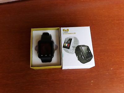 Smartwatch U8 Bluetooth Orologio Touch Screen Per Smartphone Android/ios Nero