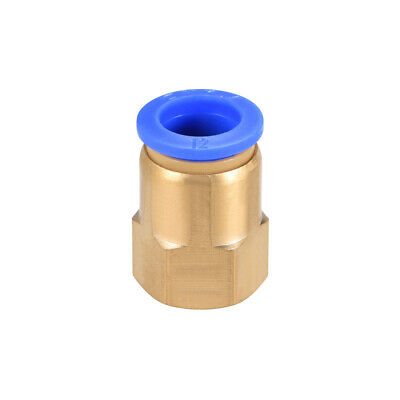 "Push to Connect Tube Fitting Adapter 12mm OD x G1/4"" Female"