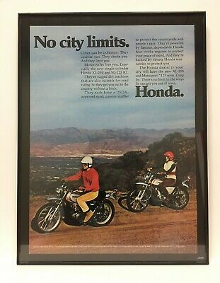 1945 Harley Davidson Motorcycles *Really Take the Rough Trails* vintage WWII Ad