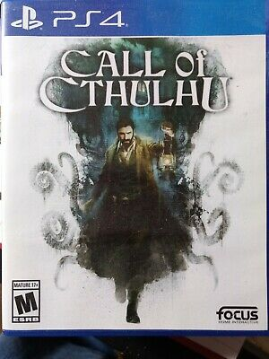 Call of Cthulhu (Sony PlayStation 4, 2018)