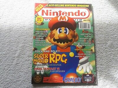 OFFICIAL NINTENDO MAGAZINE issue 38 COLLECTOR'S CONDITION