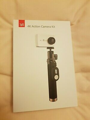 Yi 4K Action Camera with Extending Pole, Extra Batteries and External Charger