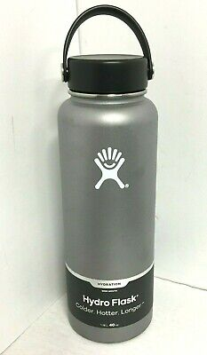Hydro Flask 40 oz Insulated Sports Water Bottle Authentic - Graphite