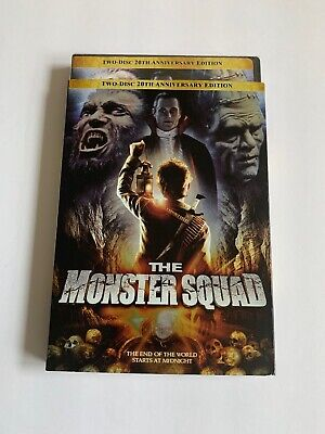 The Monster Squad (DVD, 2007, 2-Discs,20th Anniversary Edition)*BRAND NEW*W/Slip