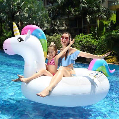 Innoo Tech Inflatable Unicorn Swimming Pool Float | 2018 Summer Safe Material |