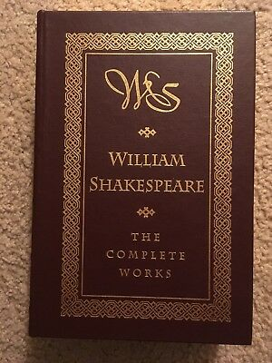 The Complete Works of William Shakespeare - Leather Bound - Barnes & Noble 1994