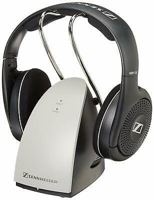 Sennheiser RS120 On Ear Wireless Headphones With Charging Dock, Black