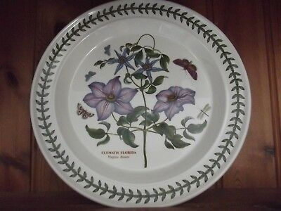 Portmeirion Botanic Garden Dinner Plate - Virgins Bower