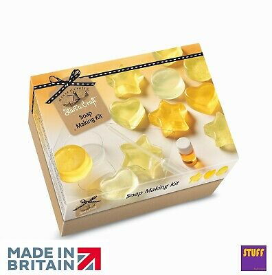 Hand Made Soap Making Starter Kit Fragrance Scent Mould Dye Petals Craft Hobby