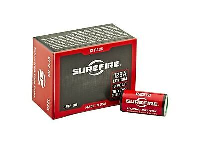 SureFire SF12-BB Boxed Batteries Lithium High Performance Power (12 Pack)