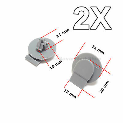 2X Front & Rear Wheel Arch Clips, Wheel Trim Retainer for BMW, Mini Cooper