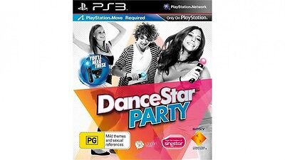 DanceStar Party PS3 playstation 3 game BRAND NEW SEALED SAME DAY POSTAGE
