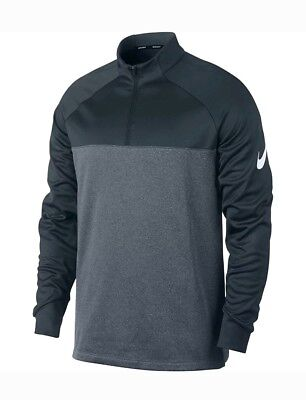 bbd9b3813 2018 Nike Men's Size Large Therma Core Half Zip Golf Top 854498 454 Armory  Navy