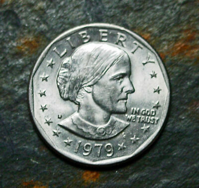 10-coins 1979-d-s-p  1980  Susan B Anthony Liberty One Dollar Coins