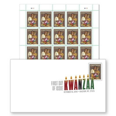 USPS New Kwanzaa  2018 Keepsake