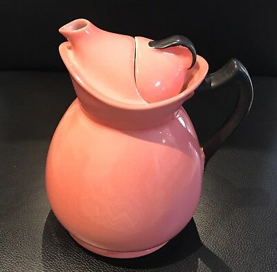 "Art Deco Rare C1920 ""Cosy"" Wood & Son England Tea/coffee Pot In Pink!"