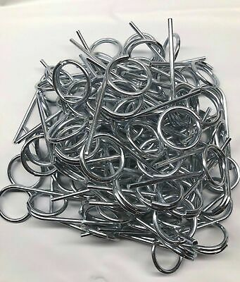 NEW Fire Extinguisher Pull Pins (25 Pieces) PLUS 50  TAMPER SEALS