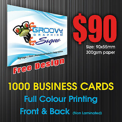 Business Cards, 1000 Business Cards