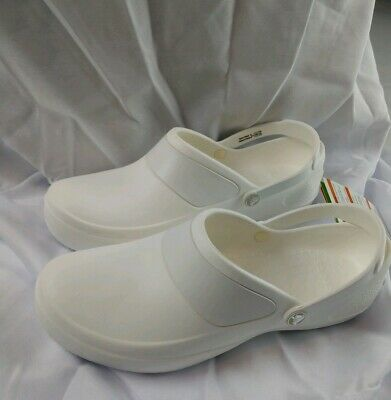 7a6703833b7478 CROCS Womens Size 11 Mercy Clog White Crocs   Work Retail  44 NEW WITH TAGS
