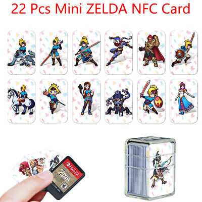 22pcs Set NFC Cards The Legend of Zelda: Breath of the Wild Wolf Link For Amiibo