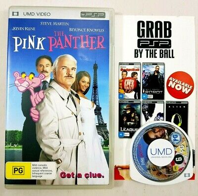 The Pink Panther Sony Playstation Portable PSP UMD Video