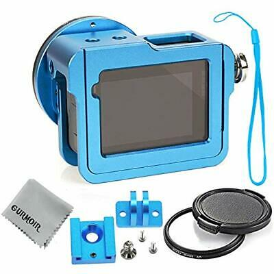 Aluminum Alloy Case Housing For Gopro Hero 6/Gopro (2018) Action Camera (with 52