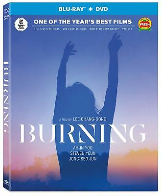 Burning (Blu-ray/DVD, 2019) With Slipcover Mint!