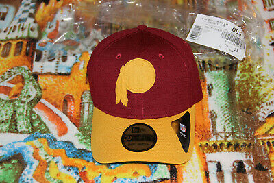 low priced fdeb9 63fa8 Washington Redskins Cap New Era NFL Logo Surge 39THIRTY S M NWT