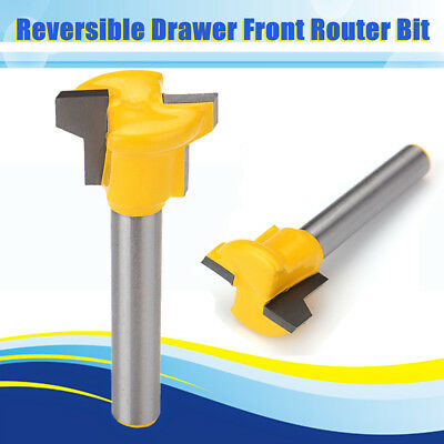 1//2Inch Shank Fish-shaped Router Bit Carving Mold Mill Cutter Woodwork Tool #ur