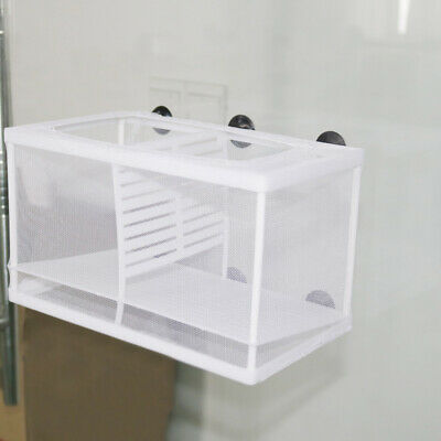 Fish Net Breeder Tank Baby Fry Newborn Hatchery Aquarium Separation Tank