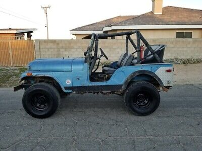 1974 Jeep CJ  1974 Jeep CJ-5  Detroit Lockers 538 Gears 4-Speed Crawler 4WD No Reserve CA