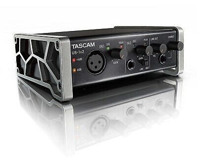 TASCAM US-1x2 - Interfaccia audio USB (2 IN, 2 OUT)