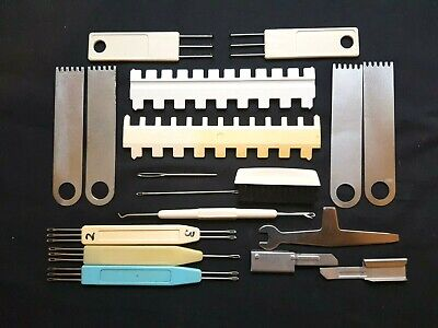 Brother Knitting Machines Ribber Parts 4.5Mm Huge Tool Set Transfer Tools