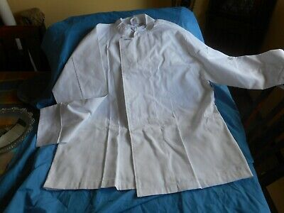 ChefsCraft WHITE LONG SLEEVE CHEFS JACKET NEW WITH TAG SIZE 2XL