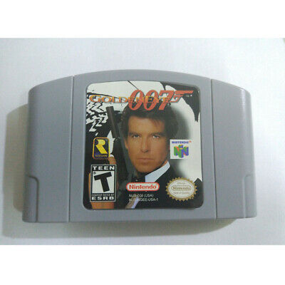 007 GOLDENEYE Nintendo 64 Video Game Card Cartridge for N64 Console US Version