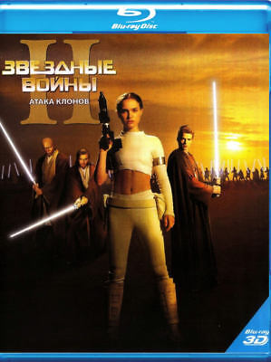 Star Wars 2 Attack Of The Clones 3D Blu-Ray