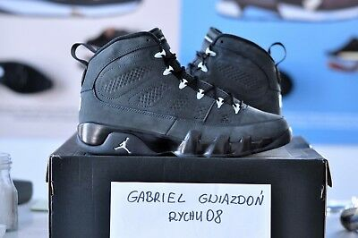 best sneakers 5dc06 819b9 BNIB Nike Air Jordan 9 IX Anthracite size 10.5