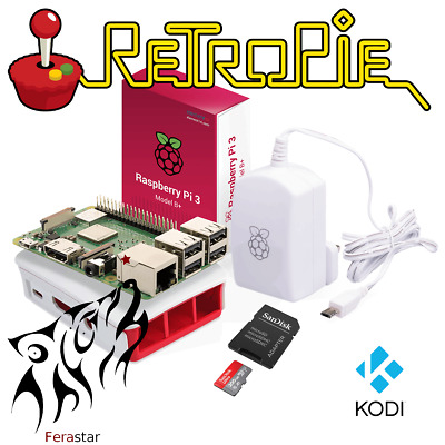 Essential RetroPie Set *** 17000 Games 200GB Sandisk SD Card + Raspberry Pi 3B+