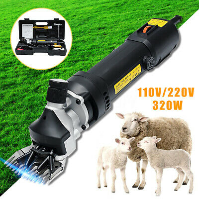320W 6 level Electric Shears Shearing Clipper Animal Sheep Goat Pet Farm Machine
