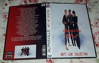 Alphaville - 80's Live Collection DVD Special Fan Edition, Very good!!