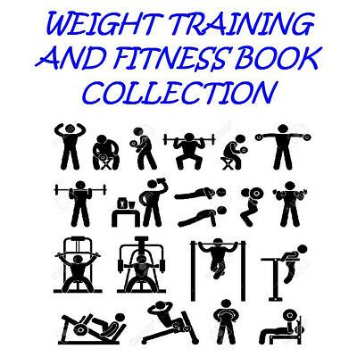 Weight training and fitness Ebook collection on Cd