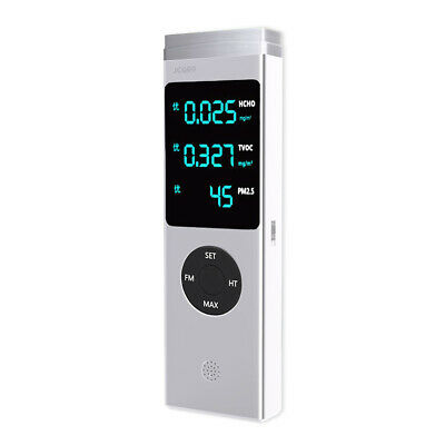 High Accuracy Air Quality laser Monitor HCHO TVOC PM2.5 PM10 Detector Tester