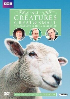 All Creatures Great and Small: The Complete Series 6 (4 Disc) DVD NEW