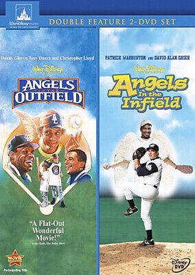 Angels in the Outfield (1994) / Angels in the Infield (2 Disc) DVD NEW