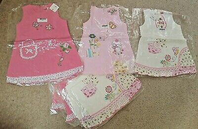 Joblot Wholesale girls cotton summer x9 DRESSES Age 4 & 5  BNWT (RRP£42 each)